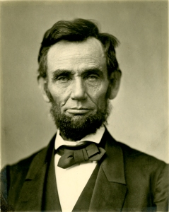 Abraham Lincoln Photo by Alexander Gardner Public Domain.